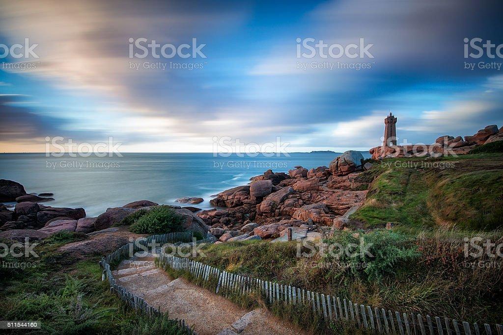 Mean Ruz Lighthouse stock photo