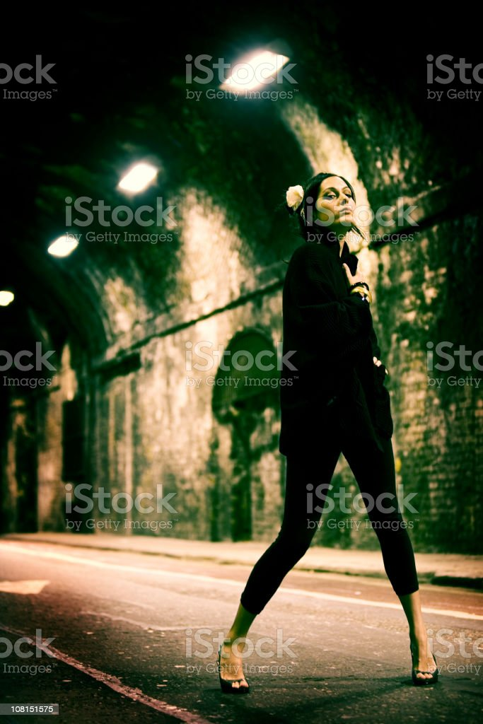 mean streets royalty-free stock photo