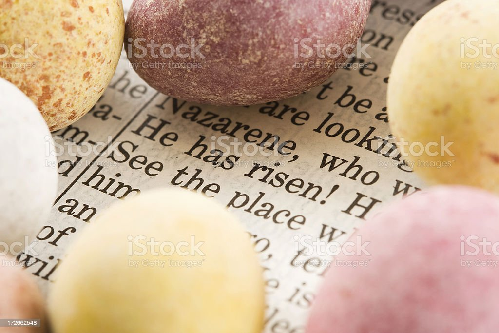 Meaning of Easter royalty-free stock photo