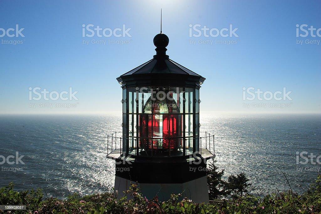 MearesLighthouse1 royalty-free stock photo