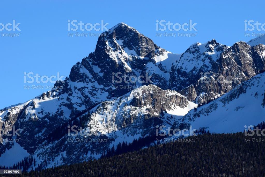 Mears Peak stock photo