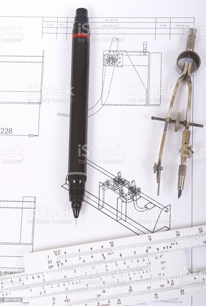 Measure and Calculation royalty-free stock photo