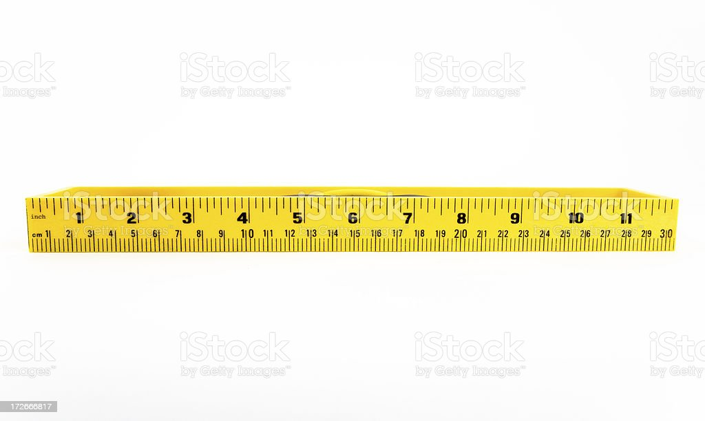 Measure royalty-free stock photo