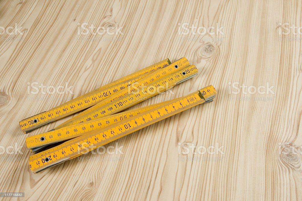 Measure tool royalty-free stock photo