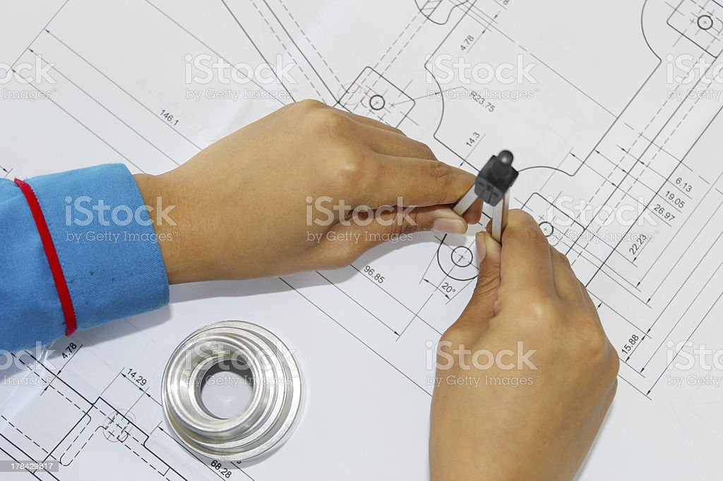 Measure tools royalty-free stock photo
