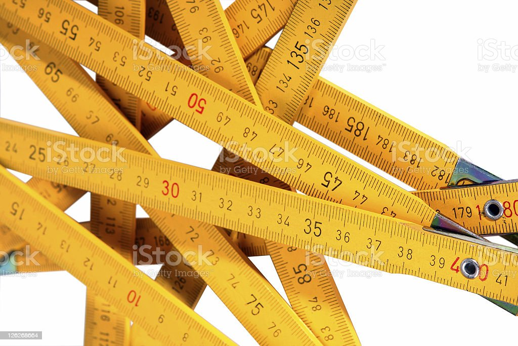 Measure up royalty-free stock photo