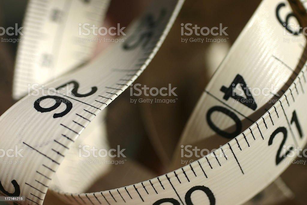 Measured royalty-free stock photo