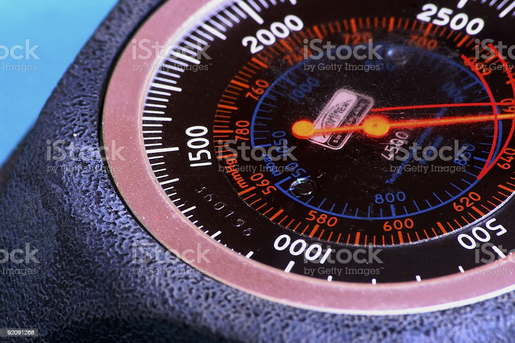 Measured royalty-free stock photo