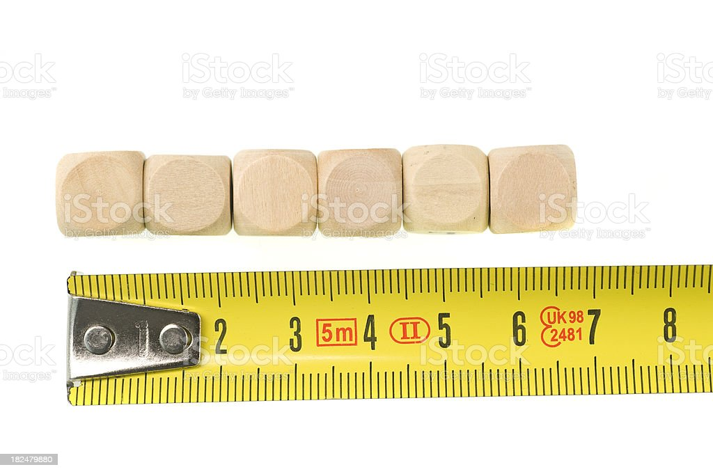 measurement of royalty-free stock photo