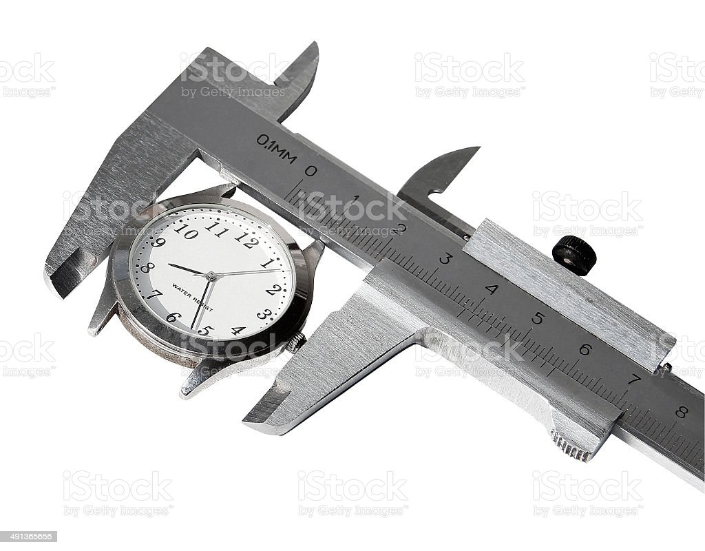 Measurement time stock photo