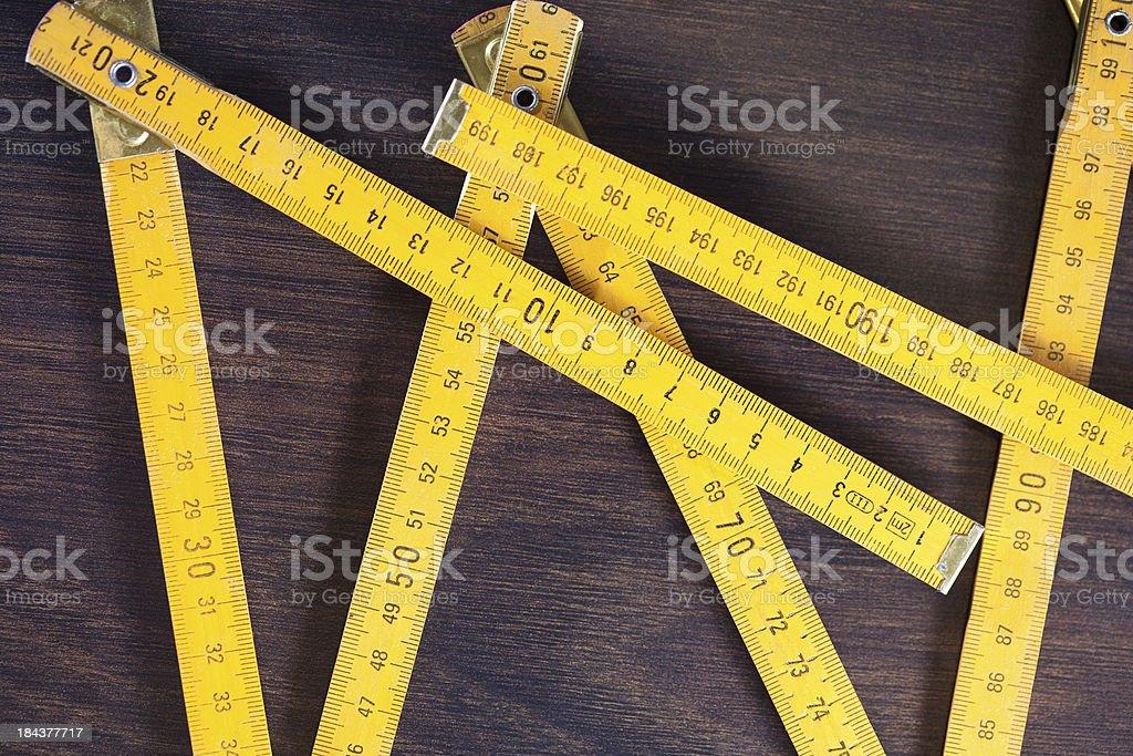 Measurement tool stock photo