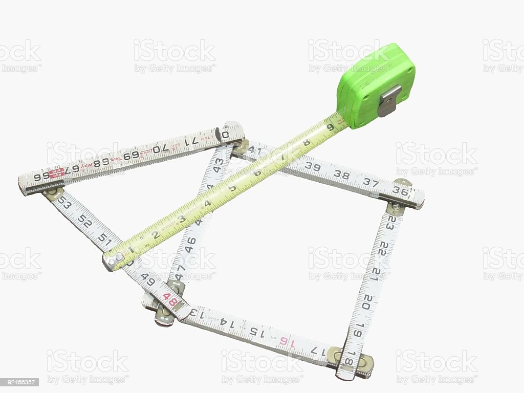 Measurements royalty-free stock photo
