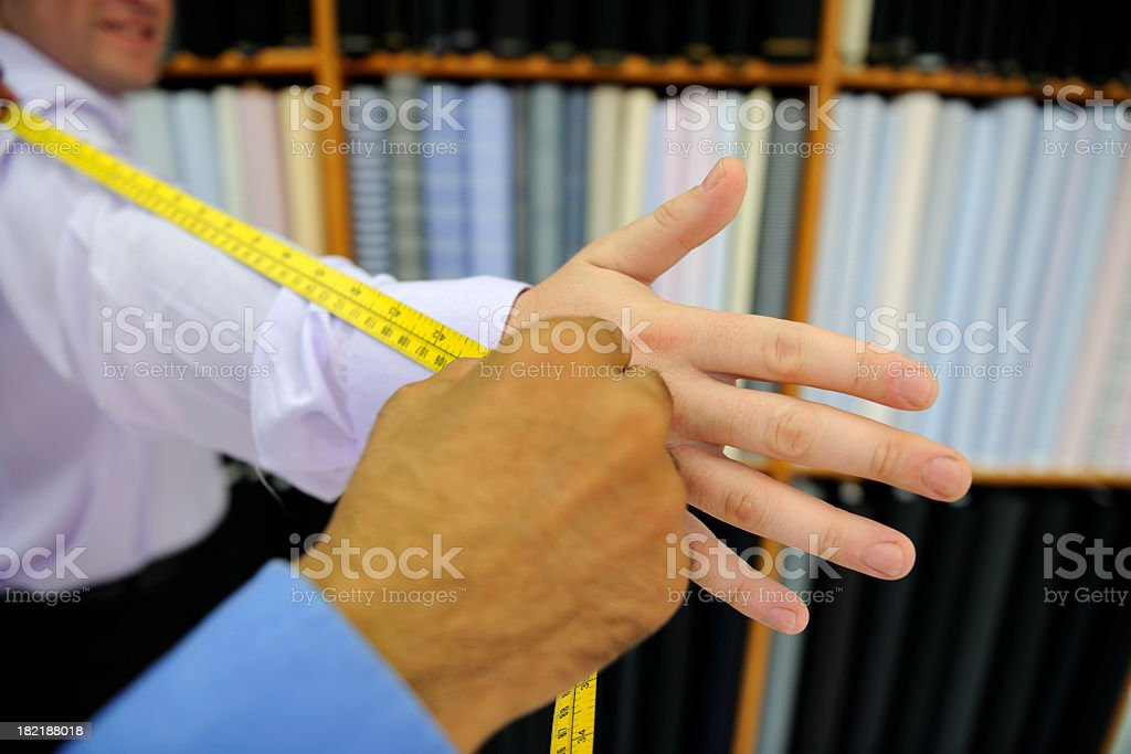 Measuring Arm royalty-free stock photo
