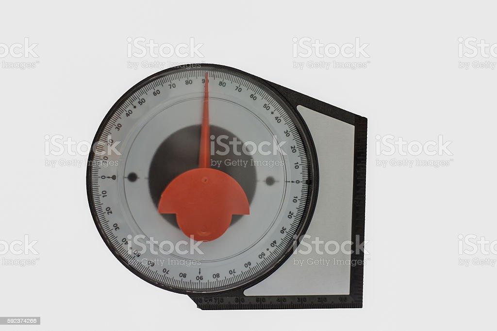 measuring degree stock photo