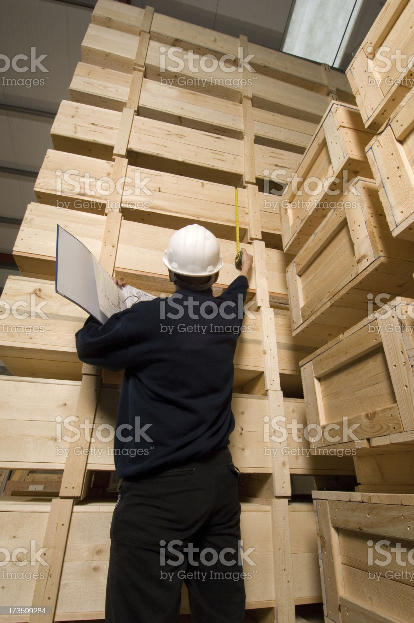 measuring export costs royalty-free stock photo