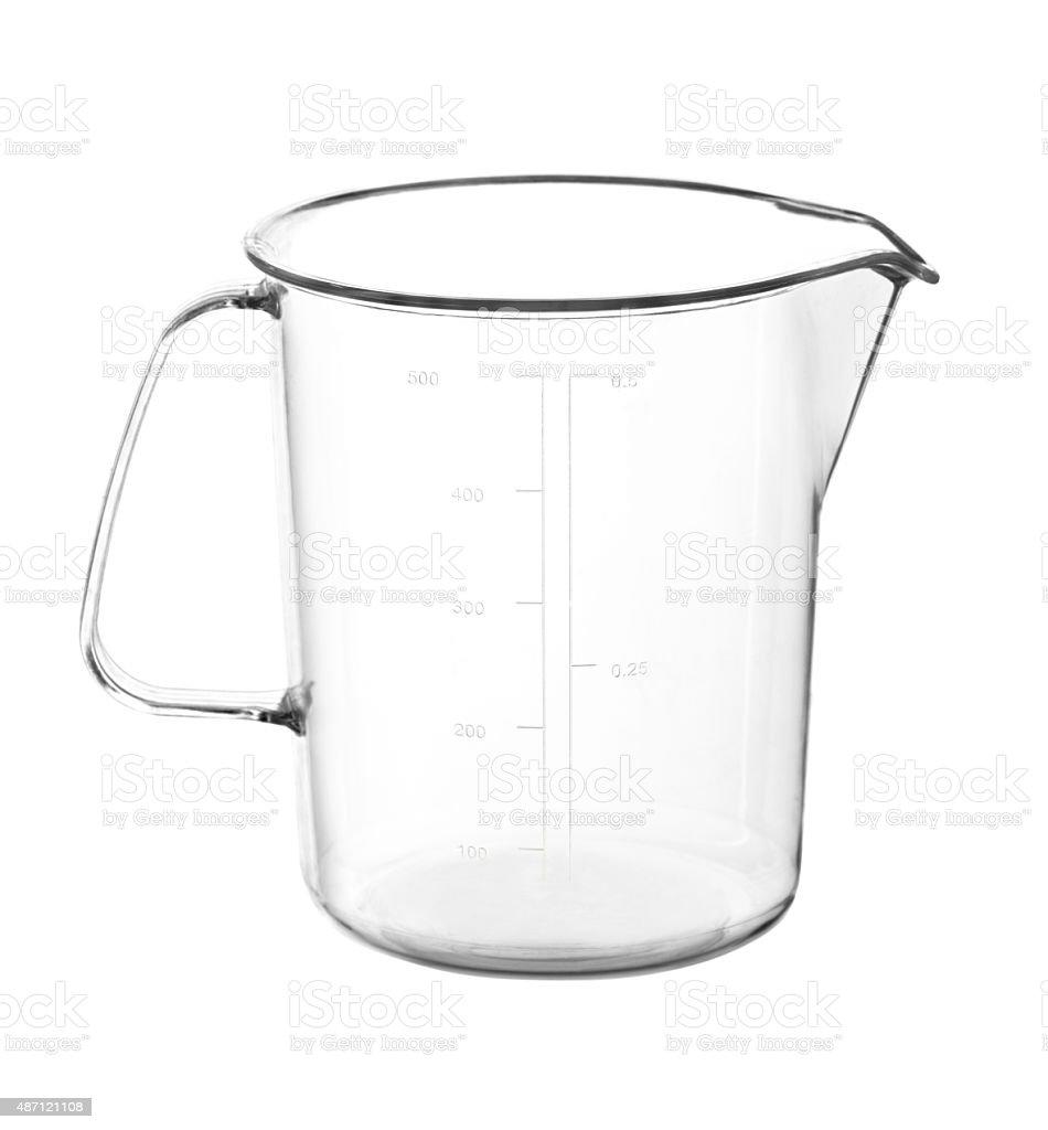 Measuring mug stock photo