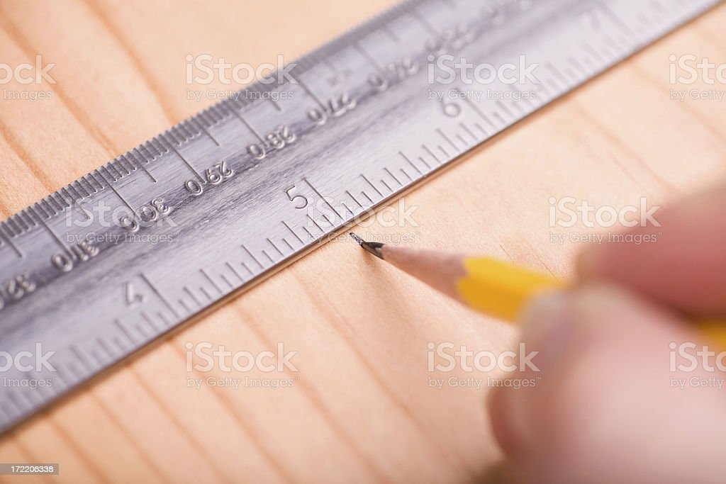 Measuring royalty-free stock photo