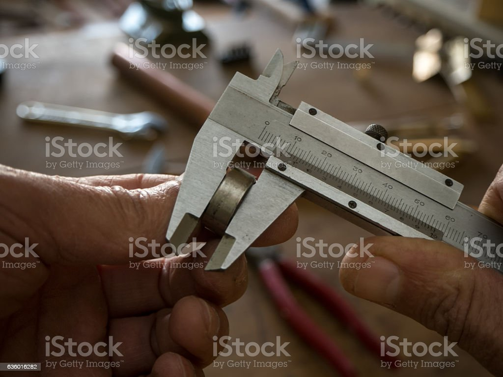 measuring stock photo