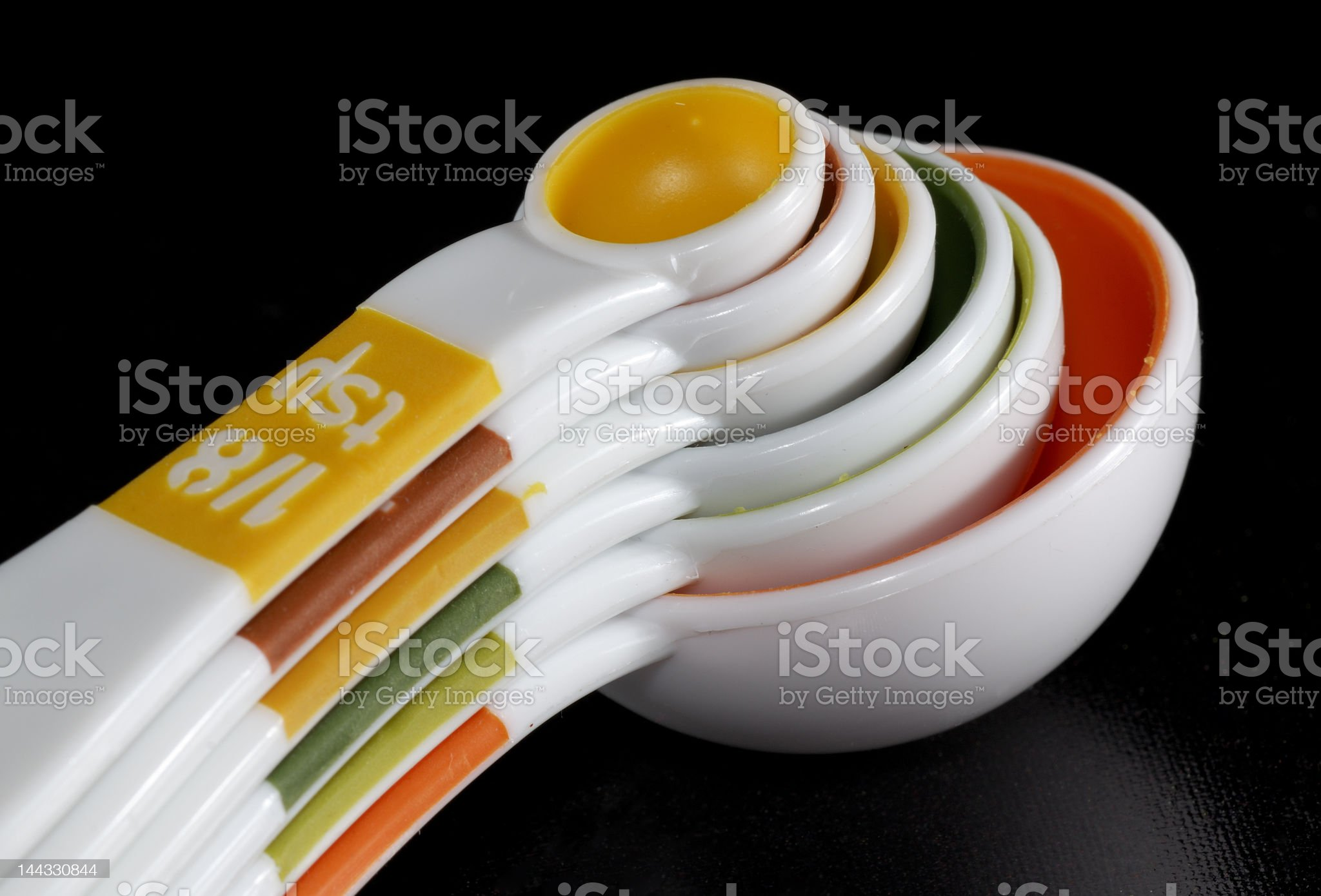 Measuring Spoon royalty-free stock photo