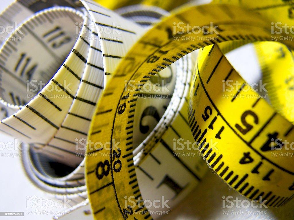 Measuring Tape - 02 royalty-free stock photo