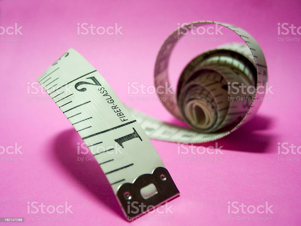 Measuring Tape - 03 royalty-free stock photo