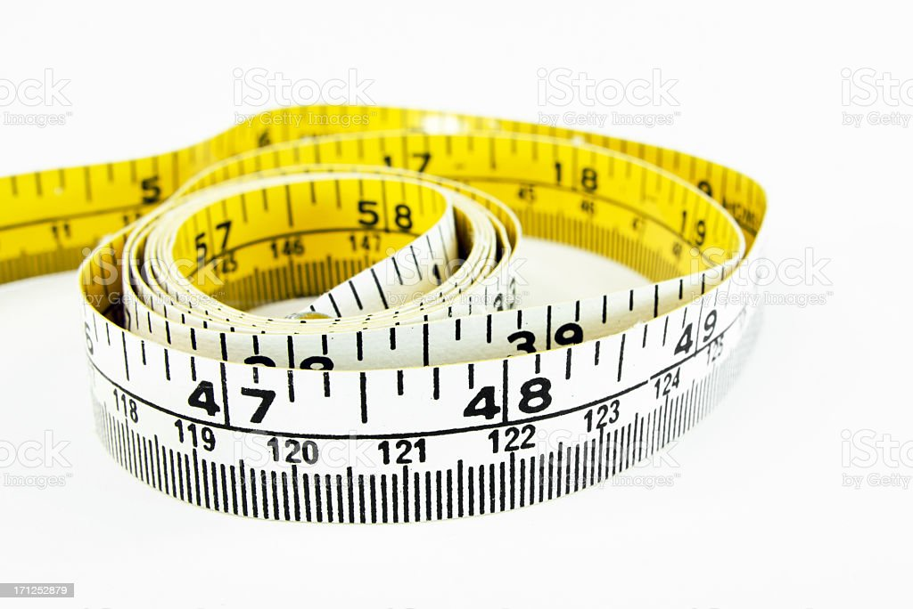 Measuring Tape Close-up royalty-free stock photo