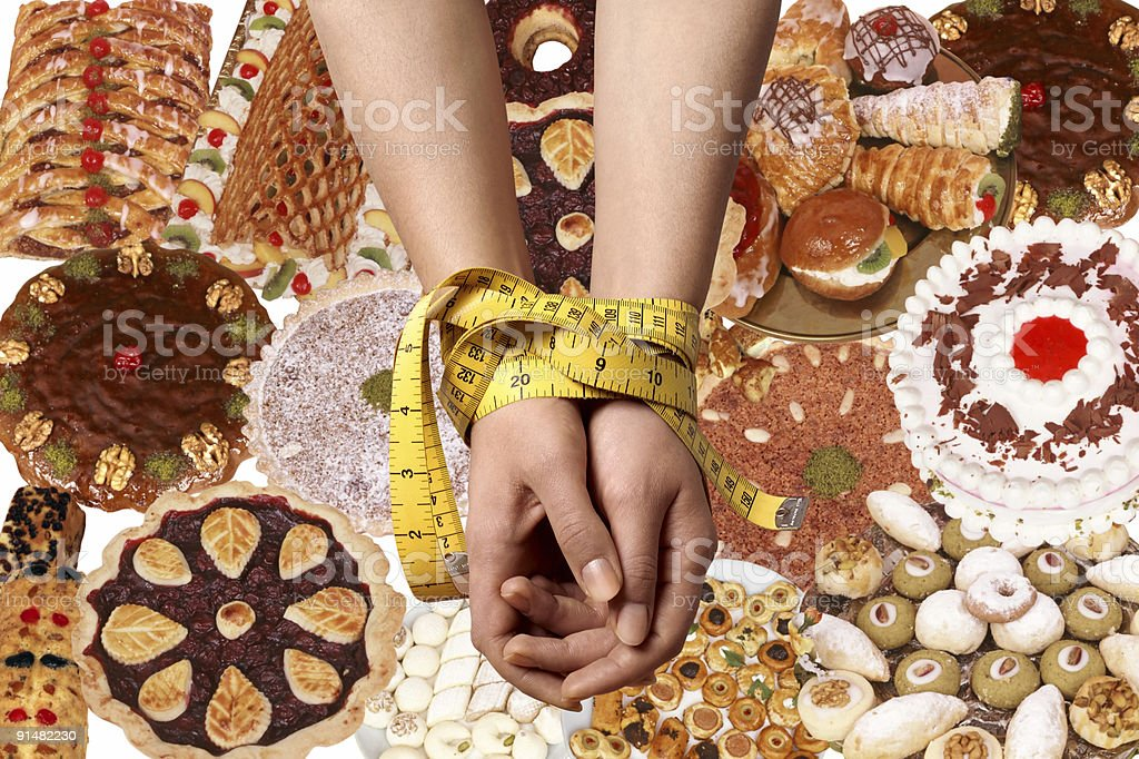 measuring tape  diet royalty-free stock photo
