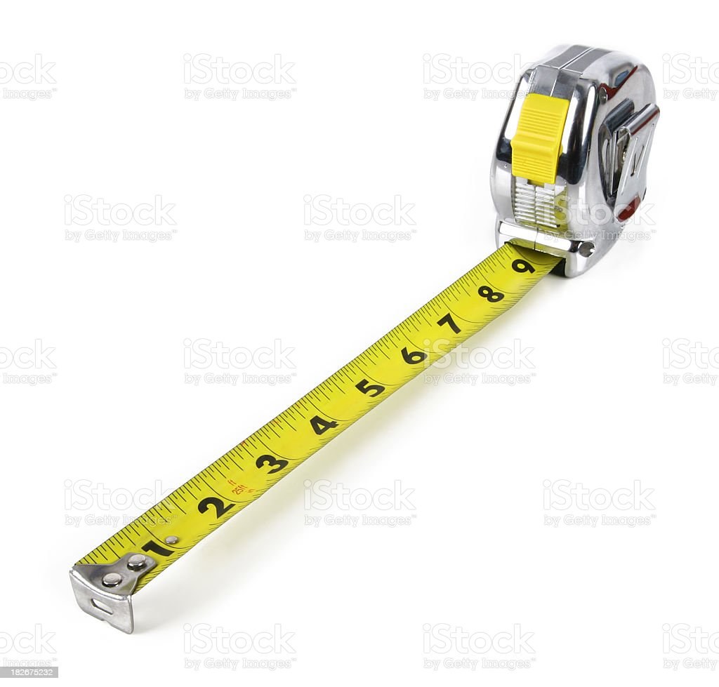 Measuring Tape #2 royalty-free stock photo