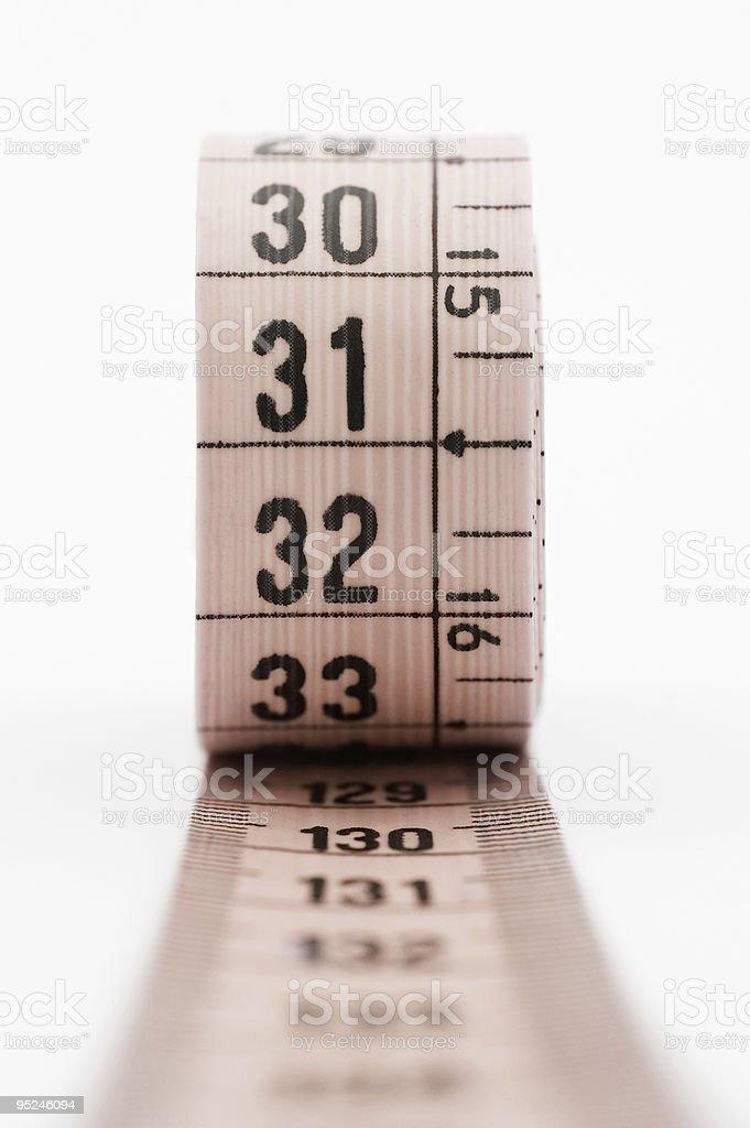 Measuring tape. stock photo