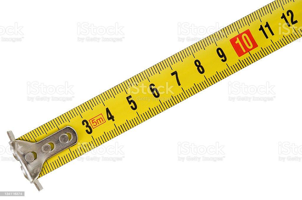 measuring tools (tape) stock photo