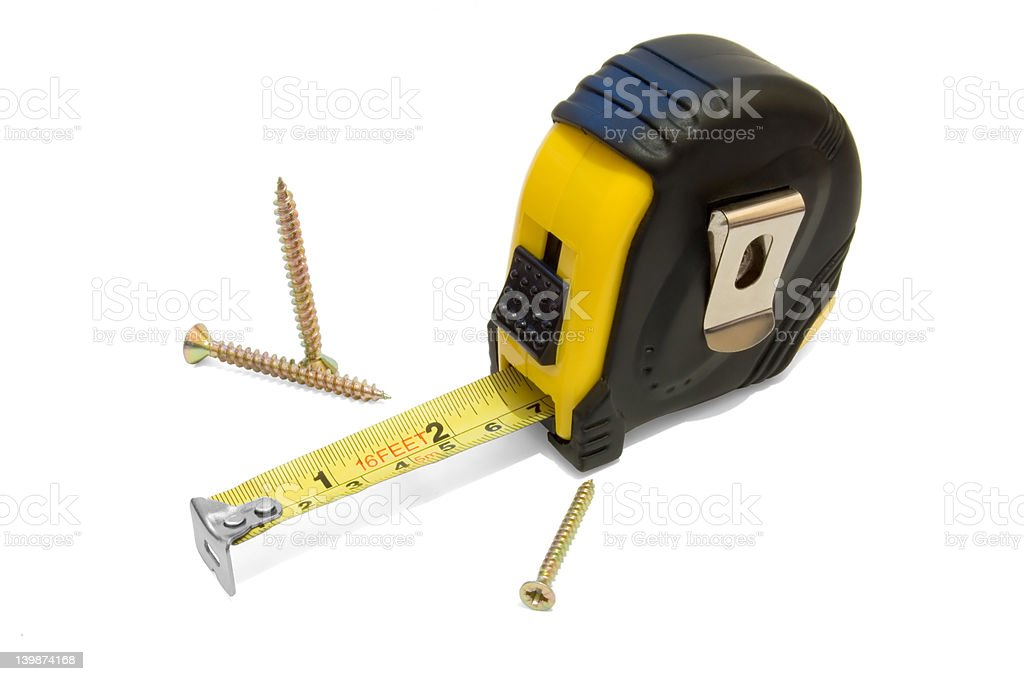 Measuring_Tape_1 royalty-free stock photo