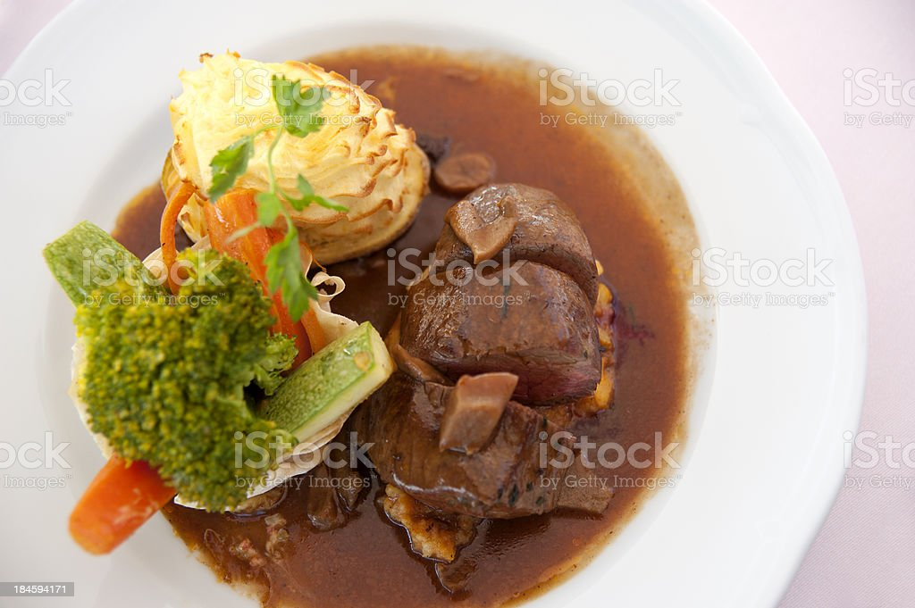 meat and vegetable stock photo