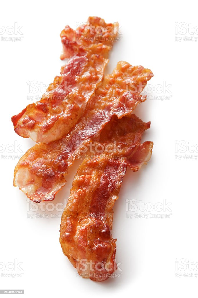 Meat: Bacon stock photo