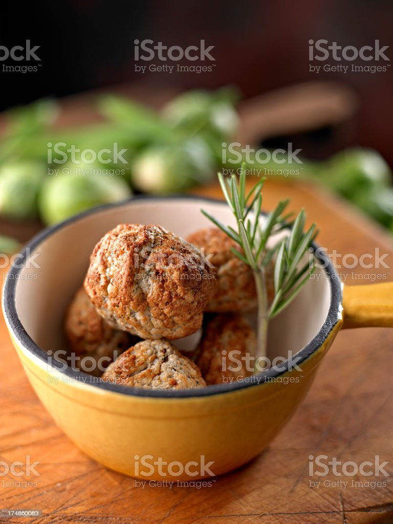Meat Ball royalty-free stock photo