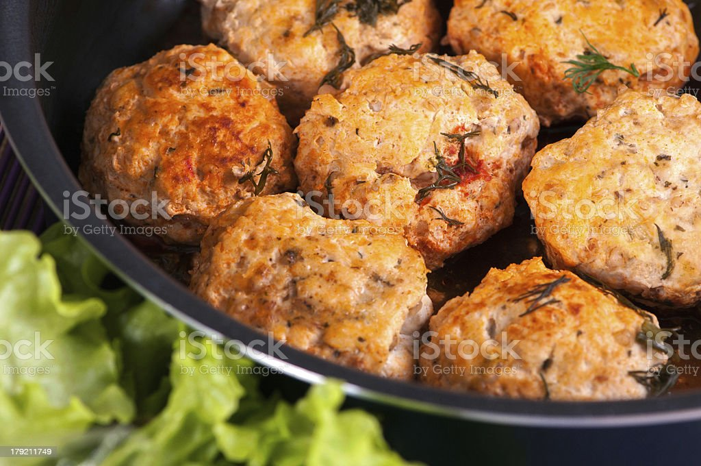 Meat balls royalty-free stock photo
