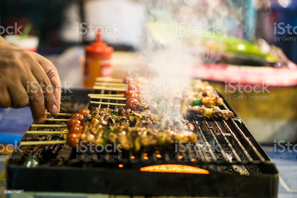 Meat Barbecue stock photo