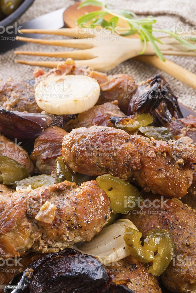 meat beefs olive royalty-free stock photo