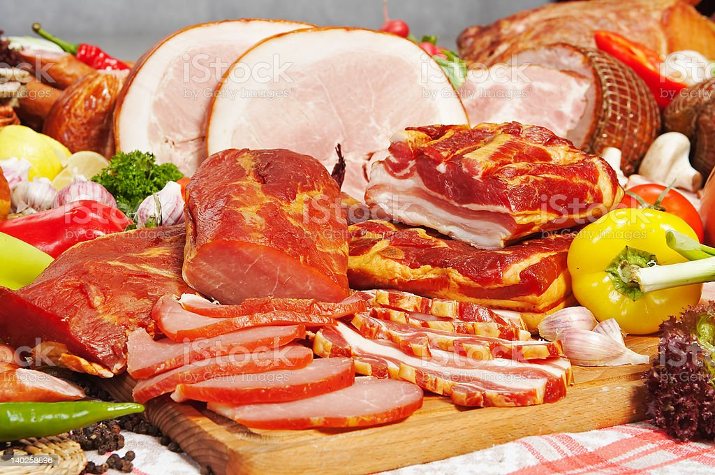 meat composition royalty-free stock photo