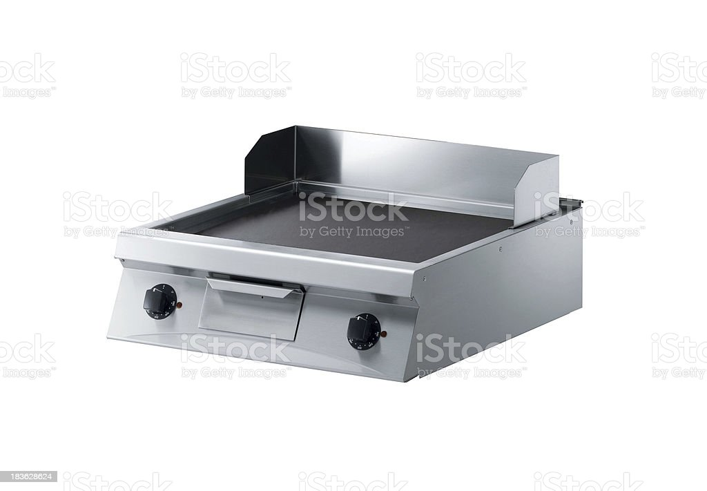 meat cooker isolated stock photo