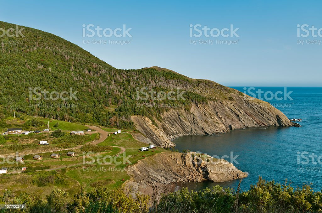 Meat Cove, Cape Breton Island stock photo