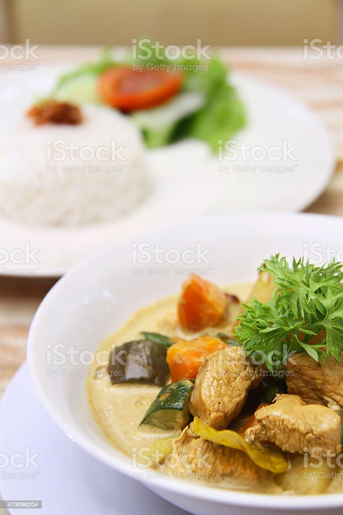 Meat Curry stock photo