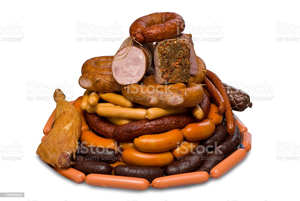 Meat Delicacies royalty-free stock photo