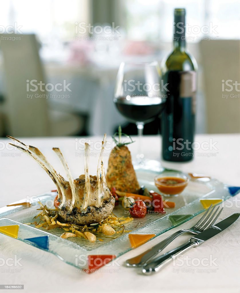 Meat dish royalty-free stock photo