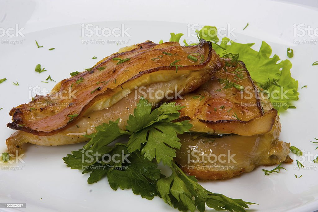 Meat dishes royalty-free stock photo