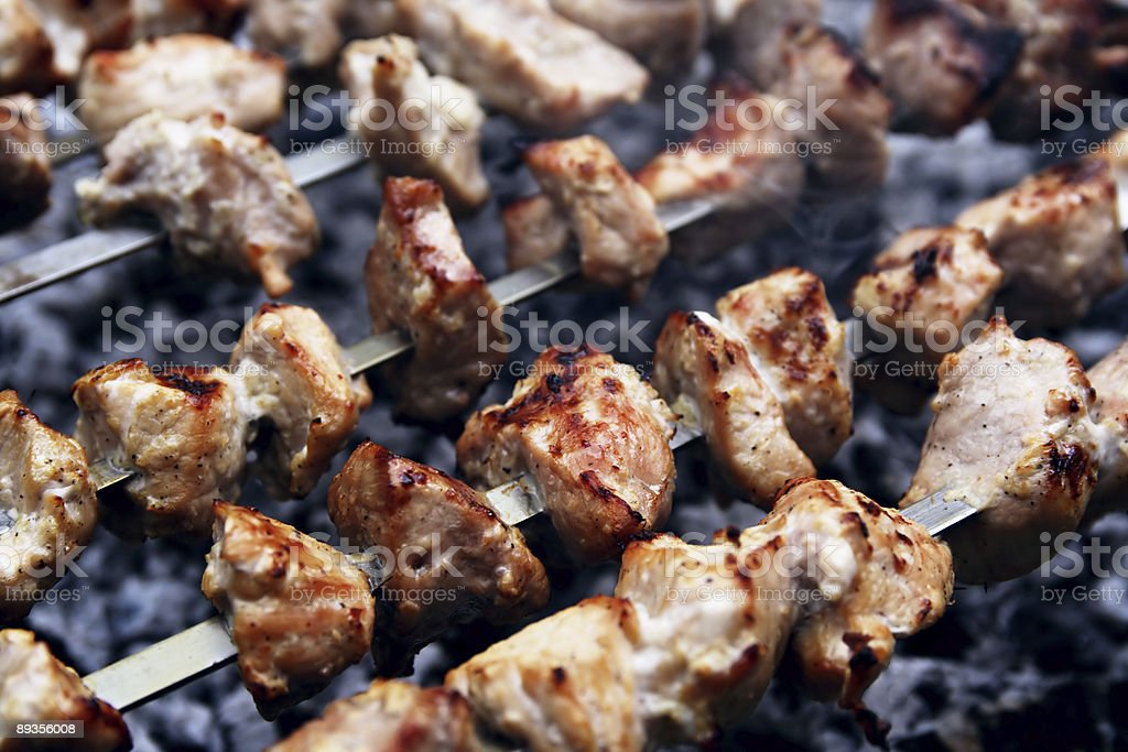 Meat grill royalty-free stock photo