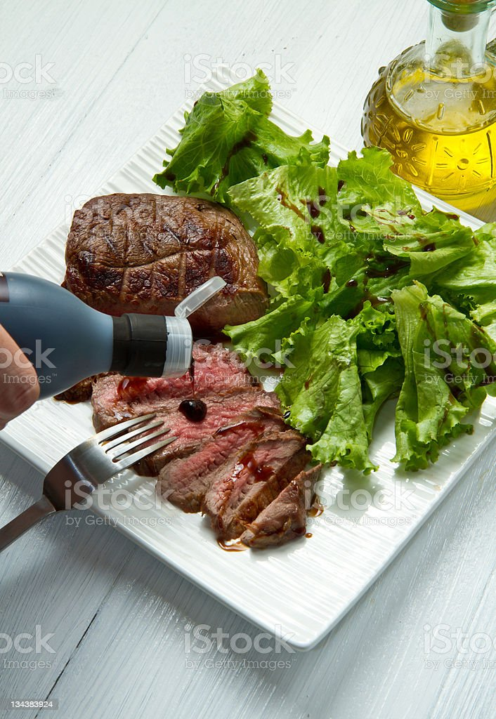 meat grilled royalty-free stock photo