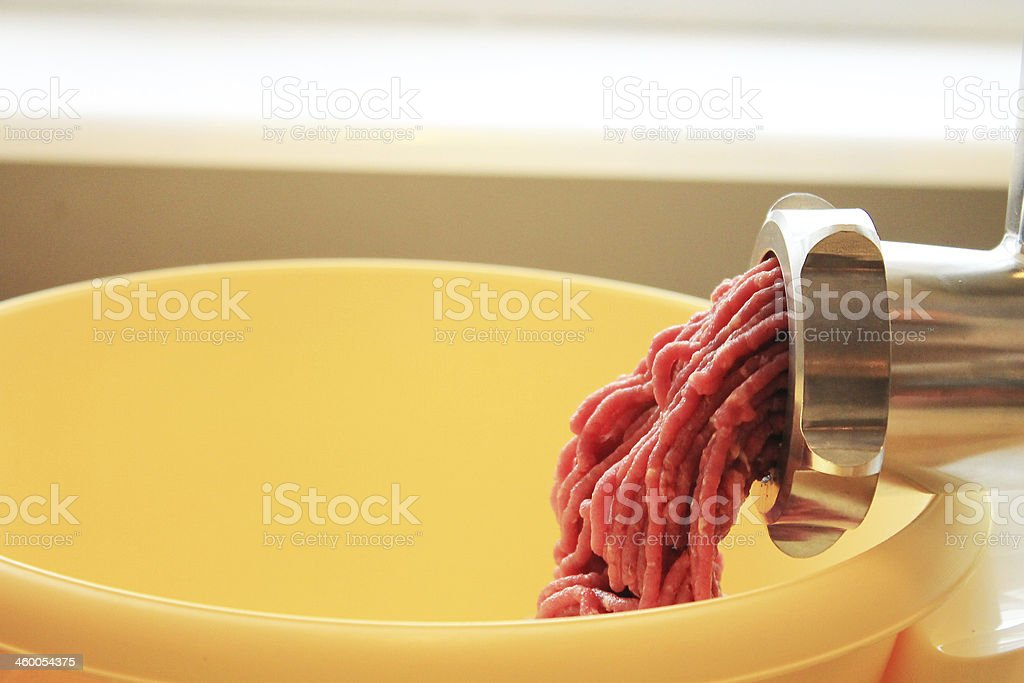 meat grinder stock photo