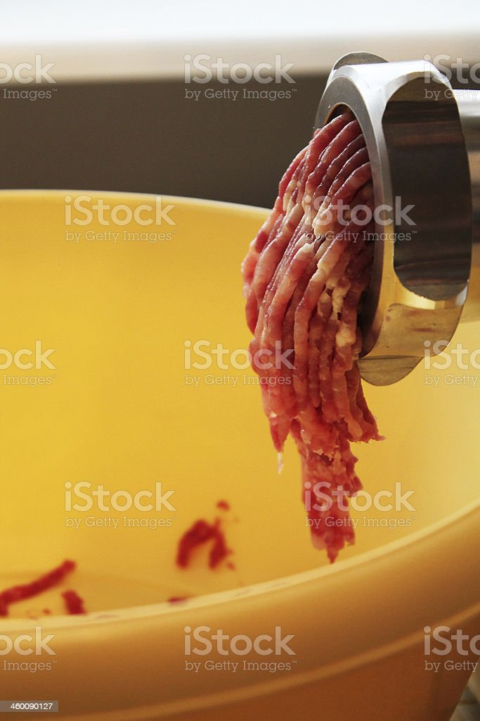 meat grinder royalty-free stock photo