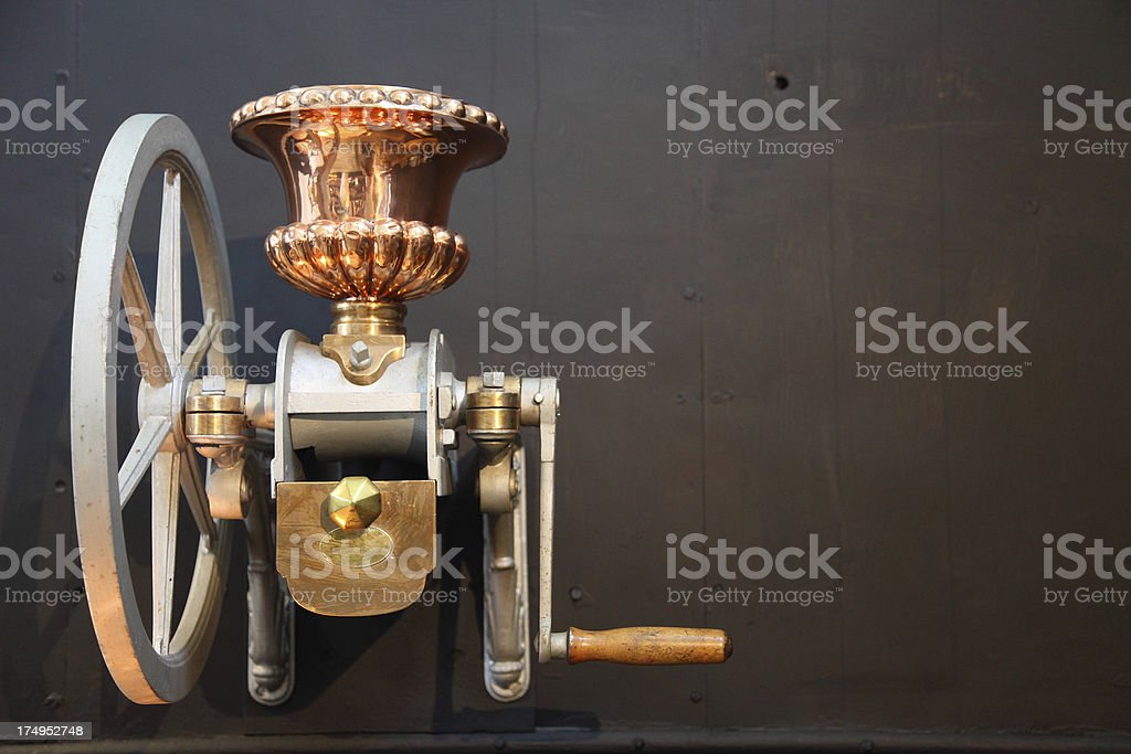 Meat mincer royalty-free stock photo