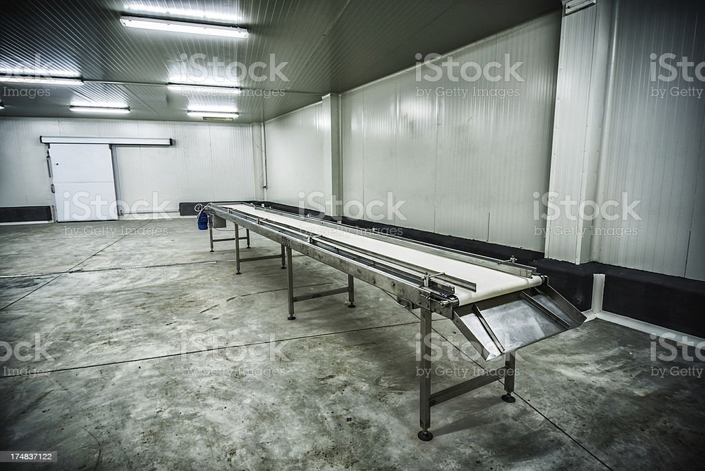 Meat or Fruit Storage at -30 Celcius royalty-free stock photo